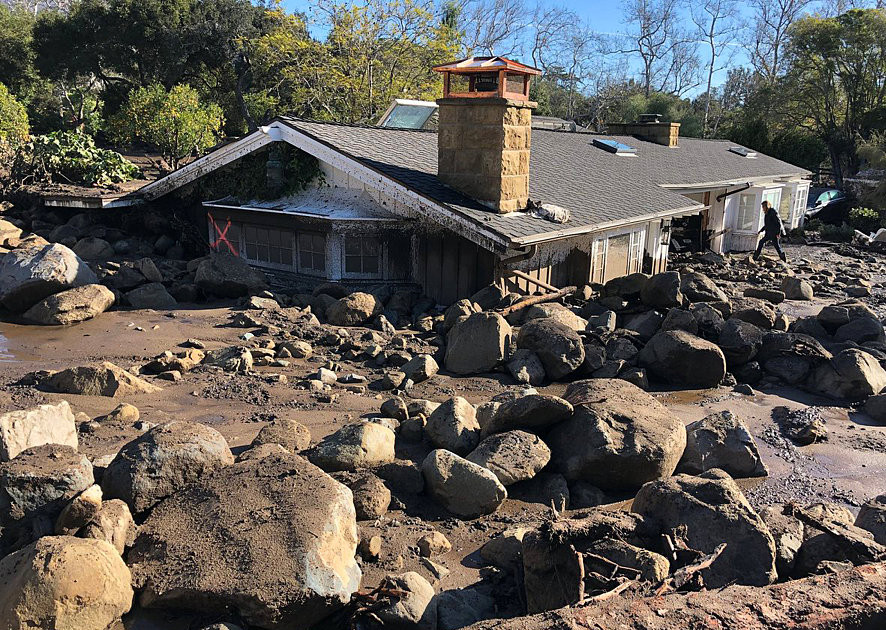 Death toll rises to 17 in deadly mudslides in southern California