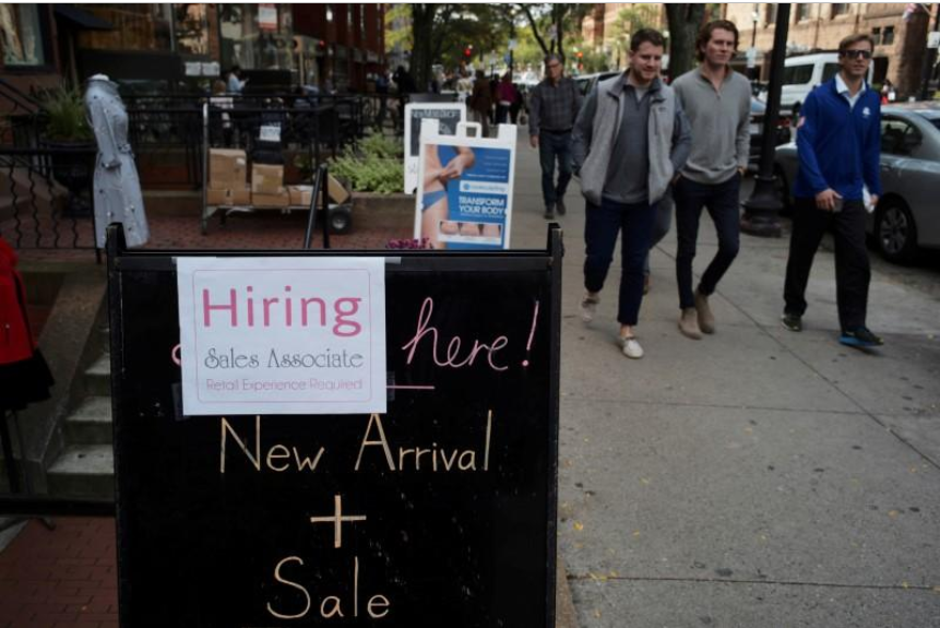 US job openings, layoffs fall to six-month lows in November
