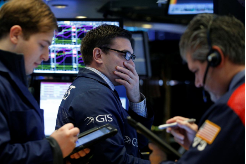 S&P, Dow lower as healthcare, bank stocks drag