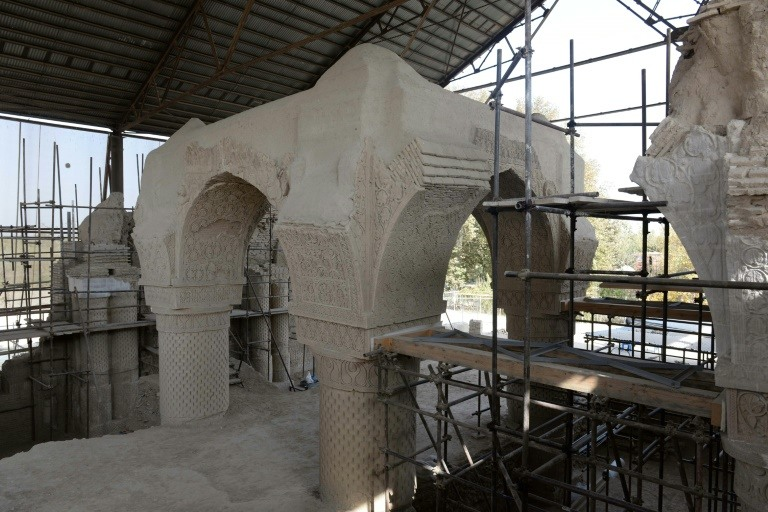 The mysterious, ancient Nine Domes Mosque of northern Afghanistan