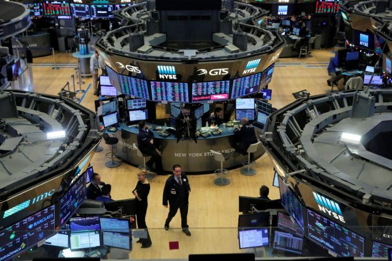 Wall Street caps best week in over a year to start 2018