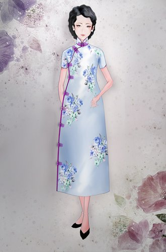 Chinese designer tackles the qipao's mysterious allure
