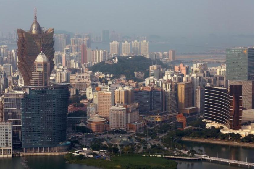 Macau casinos post first annual revenue gain in 3 years