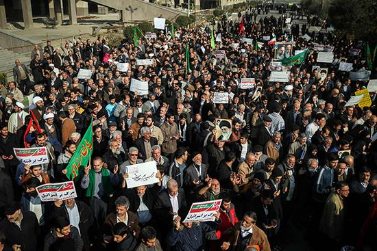 Deadly unrest in Iran after Rouhani calls for calm