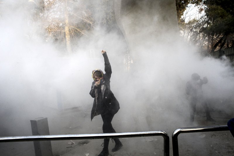 2 protesters in Iran killed as social media apps blocked