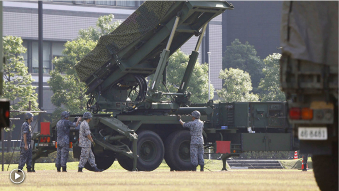 Russian fury at Japan's deployment of US missiles