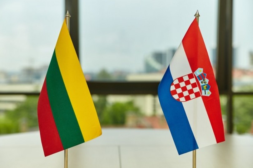 Lithuanian, Croatian ministers pledge stronger defense ties