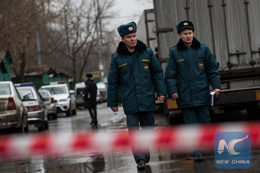 Moscow police detains security guard killer