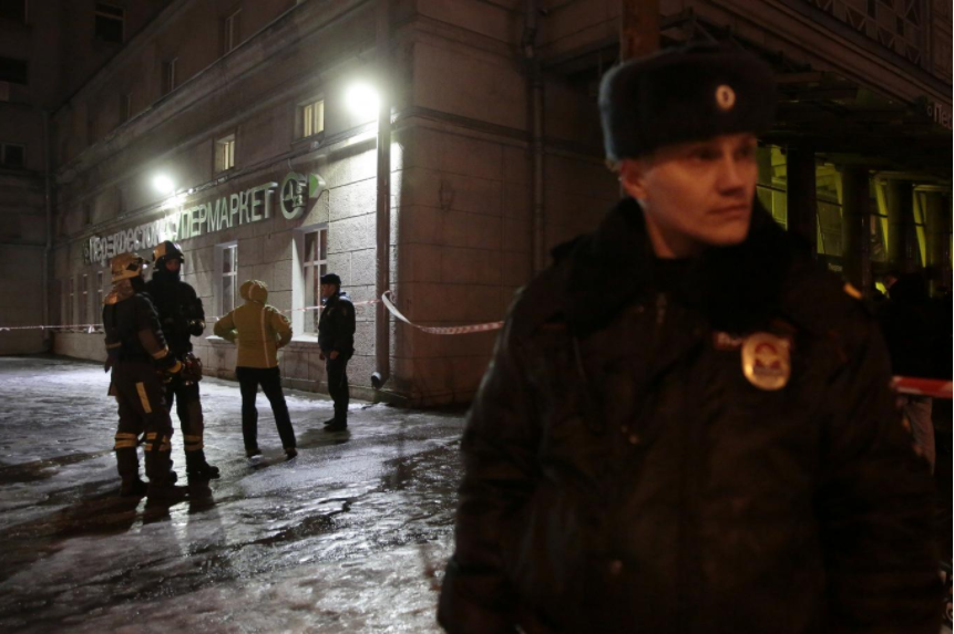 Blast rips through supermarket in Russia's St Petersburg, 10 hurt