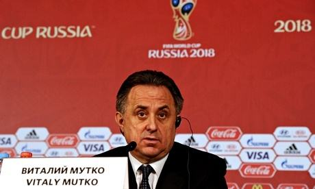 Mutko steps down as 2018 World Cup organizing committee chief: agencies