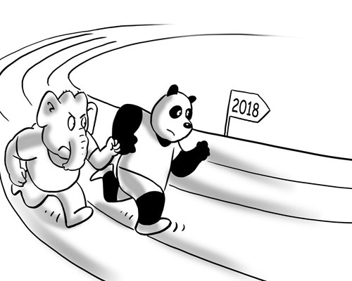 Where are China-India ties headed in 2018?