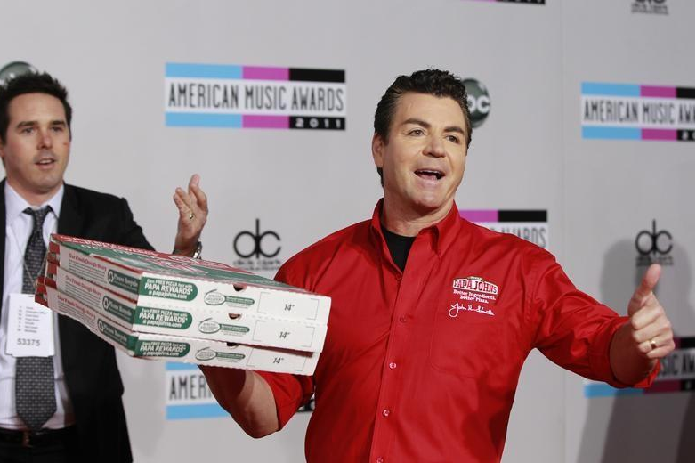 Papa John's founder Schnatter to step down as CEO