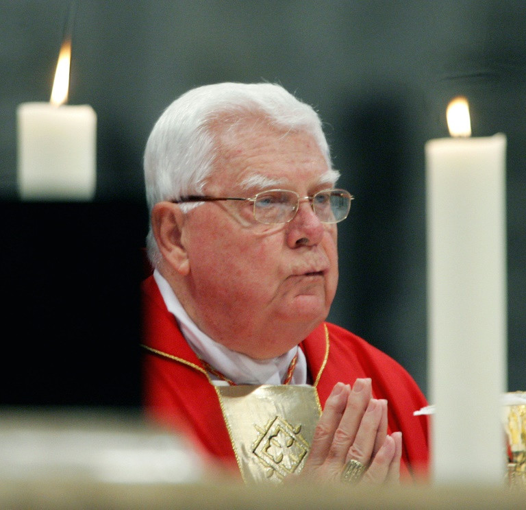 US Cardinal Law, forced to quit over sex abuse scandal, dies aged 86