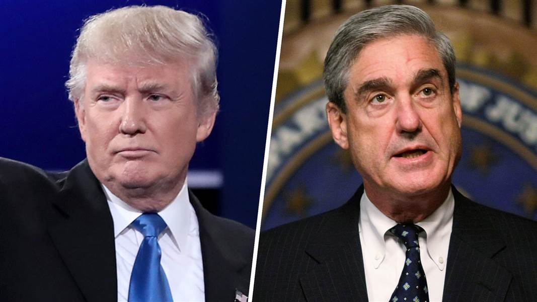 Trump says he isn't considering firing Mueller over emails