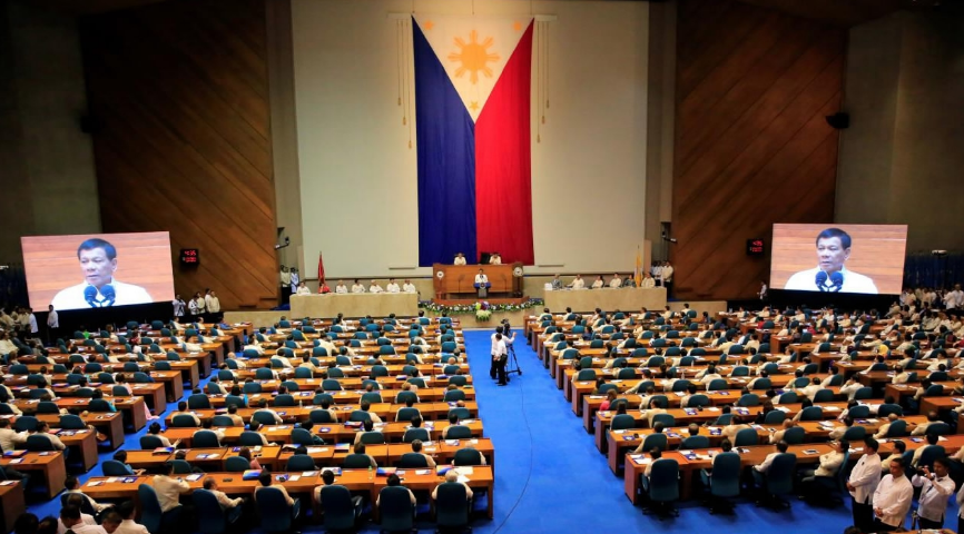 Philippine Congress approves one-year martial law extension