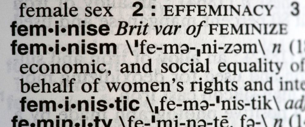 'Feminism' beats out 'Dotard' to win Merriam Webster's Word of the Year