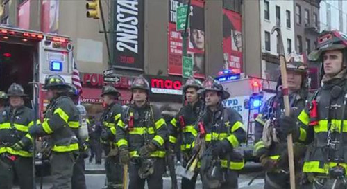 Video: Witness describes evacuations after explosion in NY