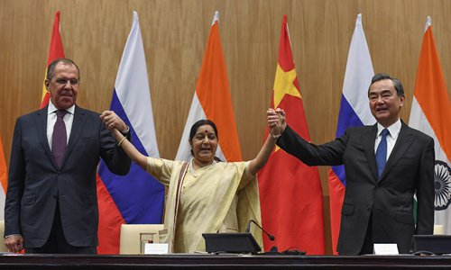 China, India, Russia to fight terrorism