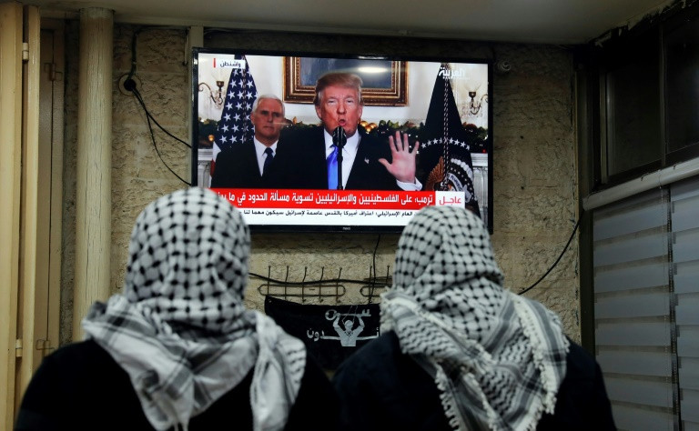 Trump puts domestic concerns over foreign in Jerusalem move