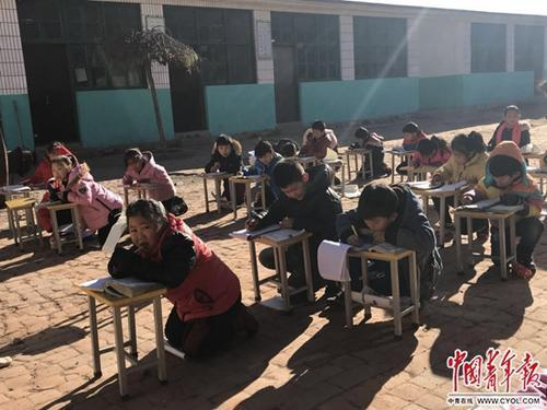 Quyang schools freeze without heating system