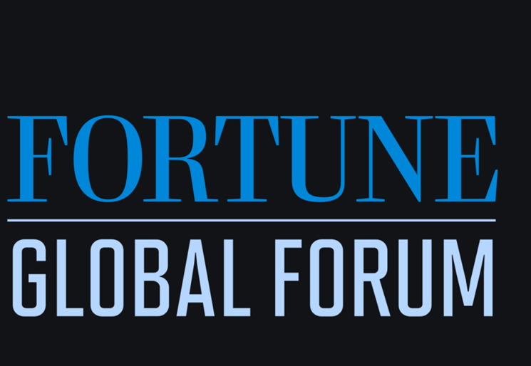 Fortune Global Forum sends 'open' signal