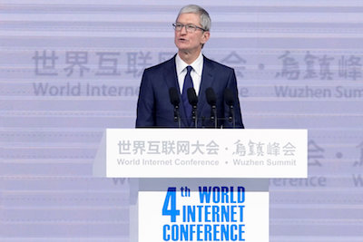 Tim Cook: China a leader in many fields