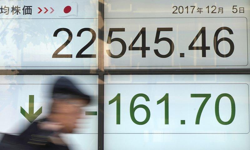 Asian shares steady after tech stocks slump on Wall Street