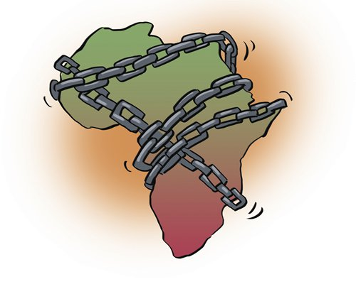 Why are African refugees slave trade victims