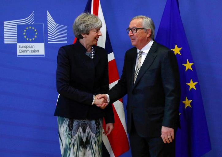 Irish furor thwarts May bid to clinch Brexit trade deal