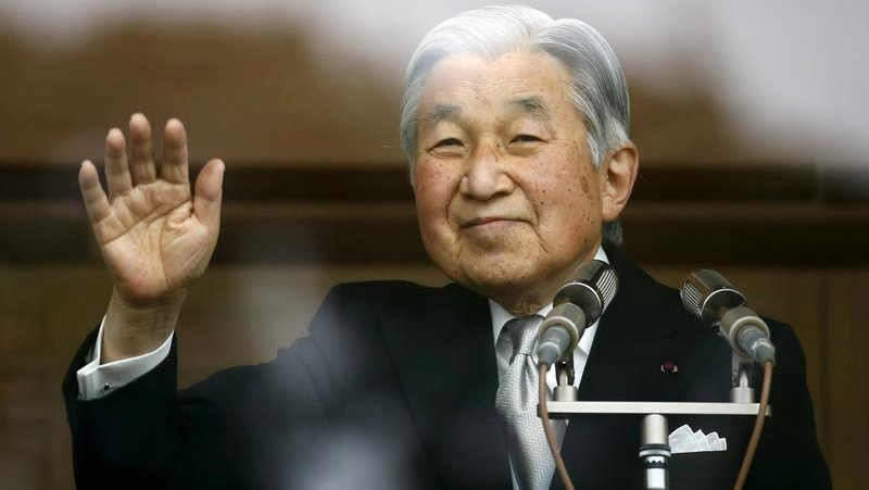 Japan's emperor to abdicate on April 30, 2019