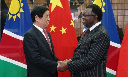 China's top legislator visits Namibia, calling for closer cooperation