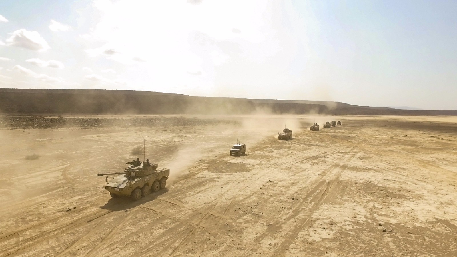Chinese troop hold live drills in Djibouti