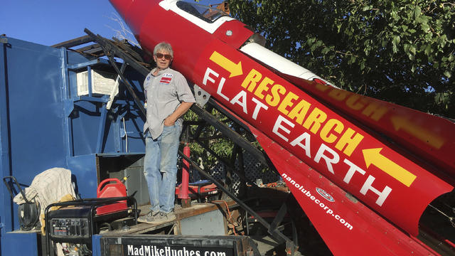 American to fly in homemade rocket to prove Earth is flat