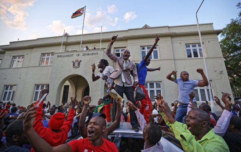 Mugabe resigns as Zimbabwe's president after 37 years