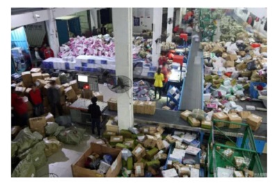 Ecological costs of the Double-11 shopping spree