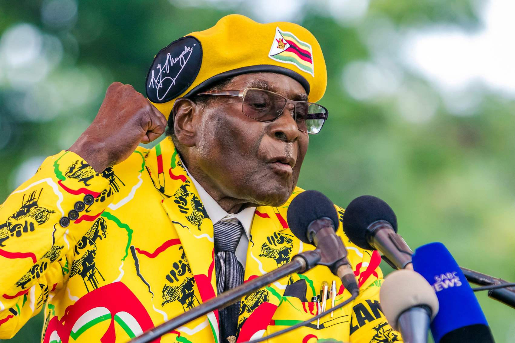 Mugabe:  A defiant founding father who refuses to go