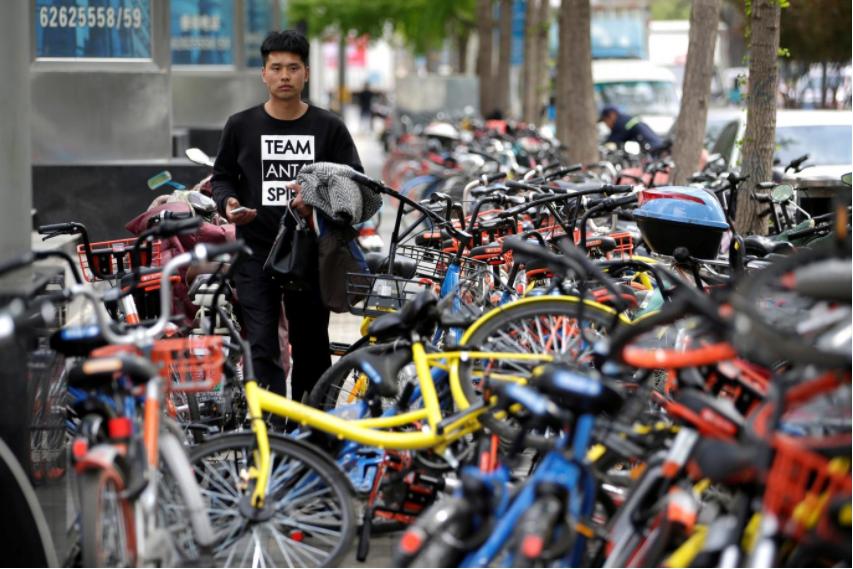 Flat tire? China bike sharing boom shows signs of strain