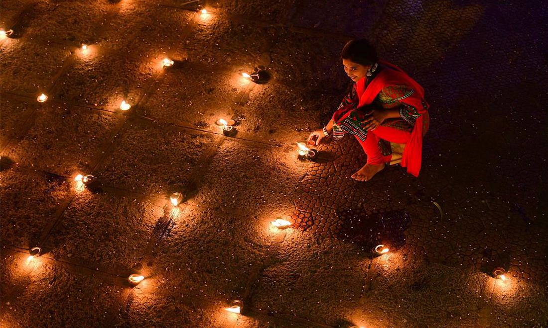 Hindus celebrate Kartika Pournami festival
