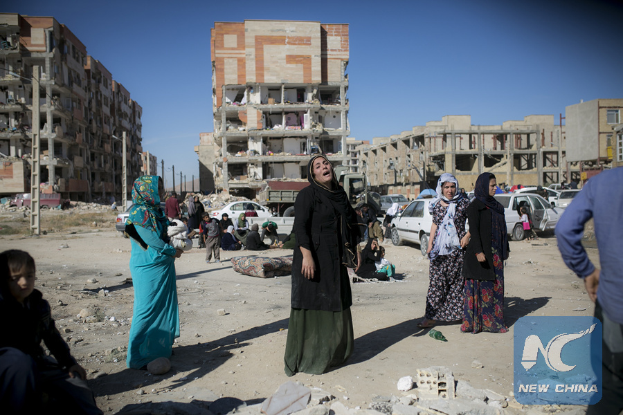 China offers aid to Iran, Iraq after earthquake kills over 300