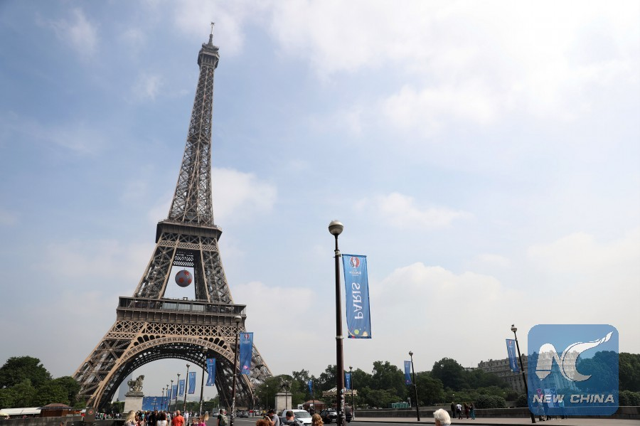 Image result for xinhua, France monument