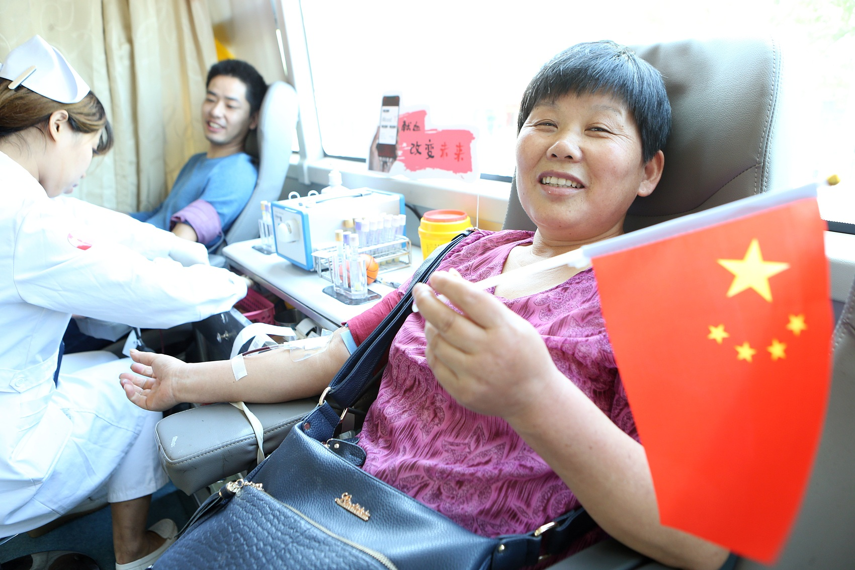 China's voluntary blood donations up 5 pct in Jan.-Sept.
