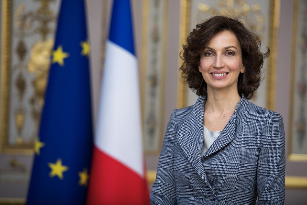 Former French Minister of Culture Audrey Azoulay elected as UNESCO new chief