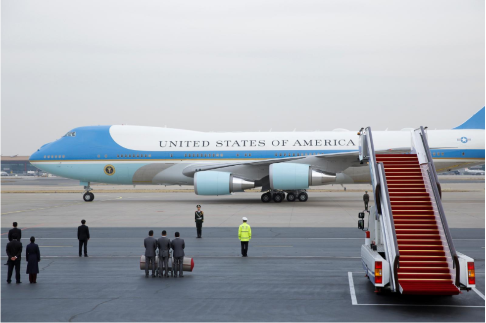 Boeing books order for two new Air Force One jets