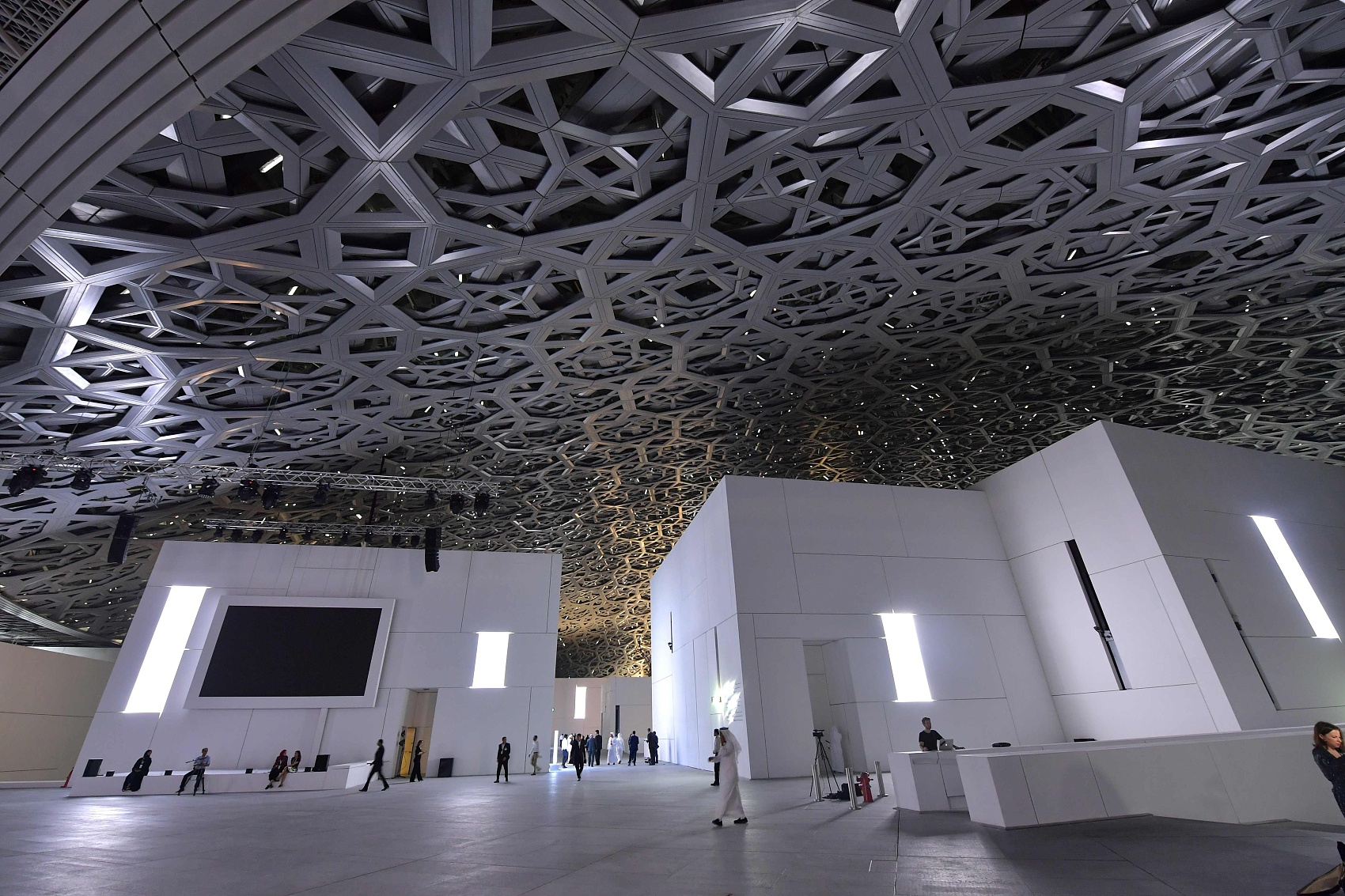 Louvre Abu Dhabi opens to public with plenty of arts masterpieces
