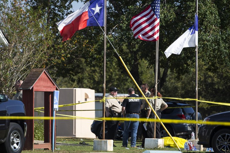 Updated: Up to 25 people killed in Texas church shooting: police