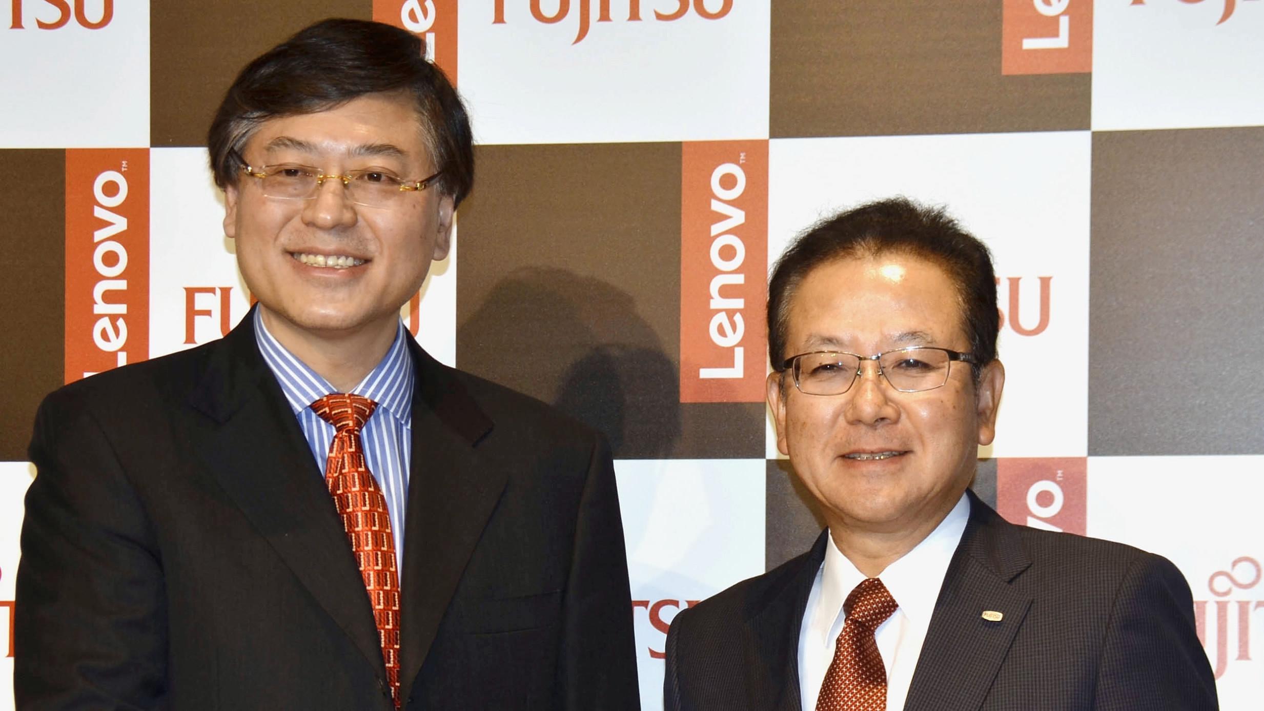 Fujitsu, Lenovo agrees to PC merger