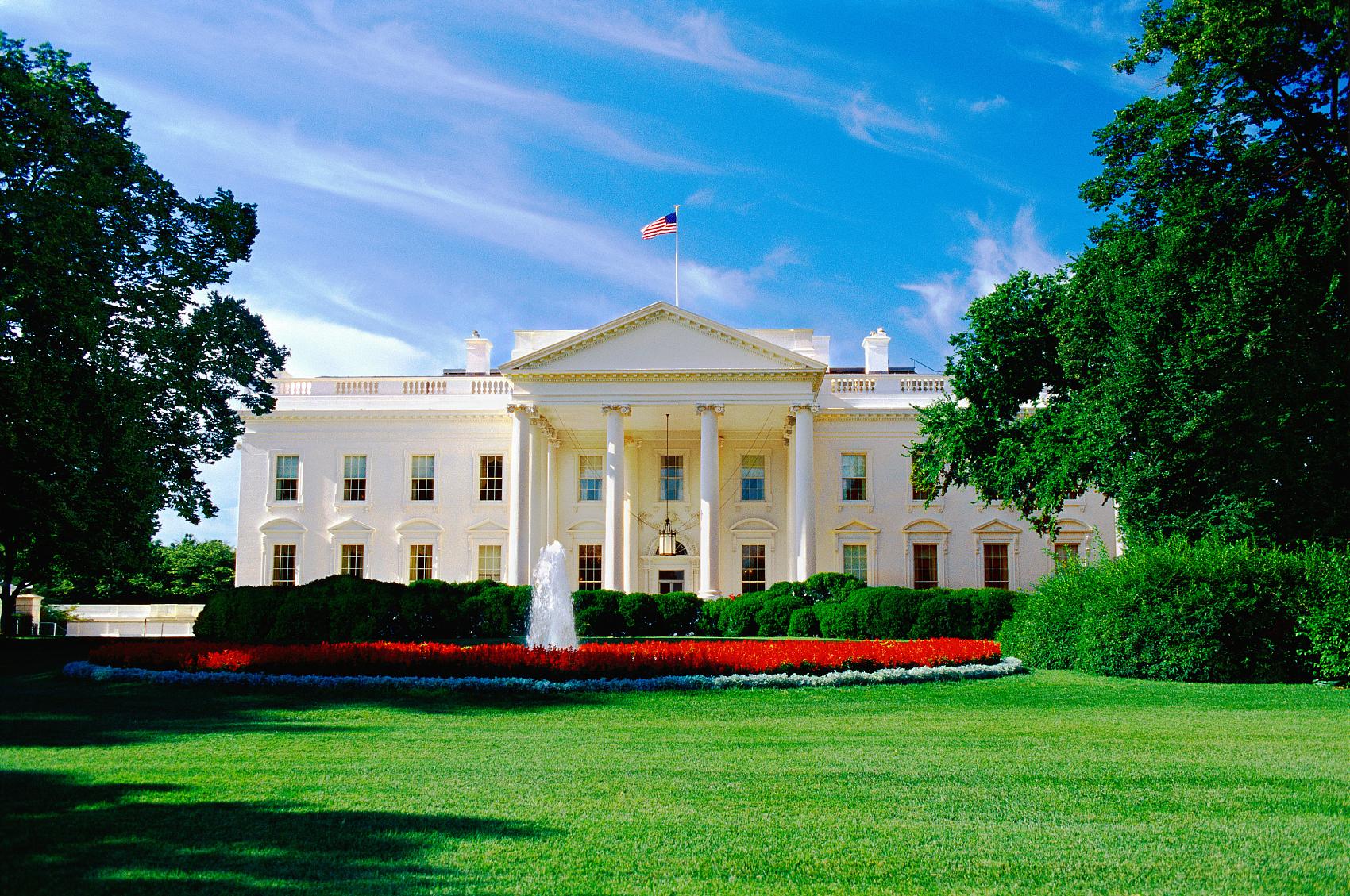 White House locked down