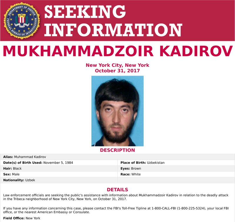 Man once wanted by FBI was NY attack suspect's pal