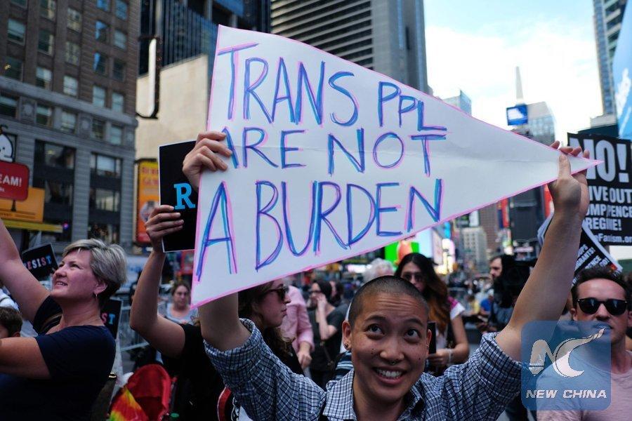 U.S. judge blocks controversial transgender military ban