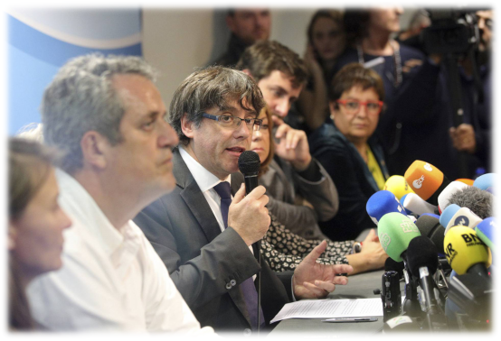 Catalonia's sacked leader Puigdemont 'not seeking asylum'